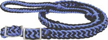 Braided Barrel Reins