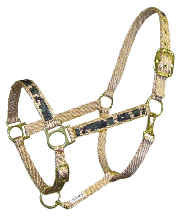 Ronmar Nylon Halter with Snap - Camouflage