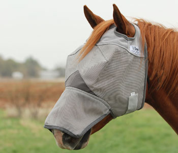 Crusader Fly Mask - Long Nose