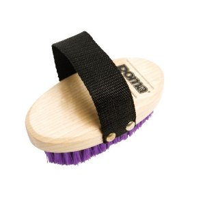 Roma Pony Wood Back Body Brush