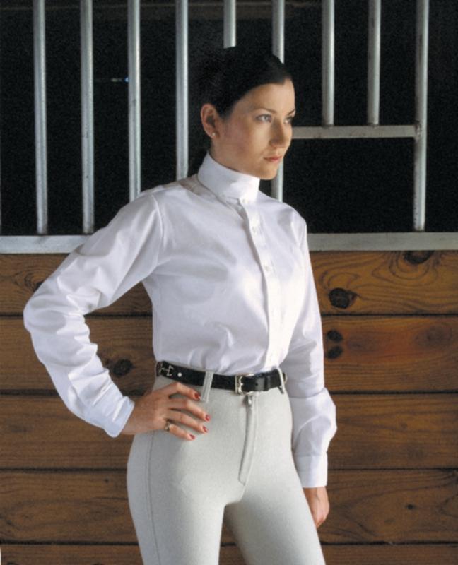 Devonaire Ladies L/S Nouvelle Stretch Show Shirt