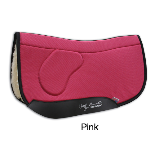 Professionals Choice Charmayne James Square OrthoSport Barrel Saddle Pad