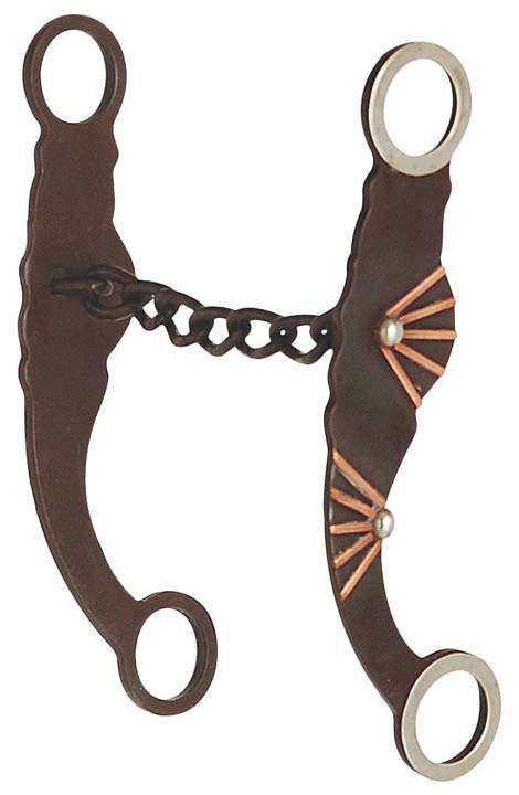 Direct Equine Antique with Copper Bars Chain