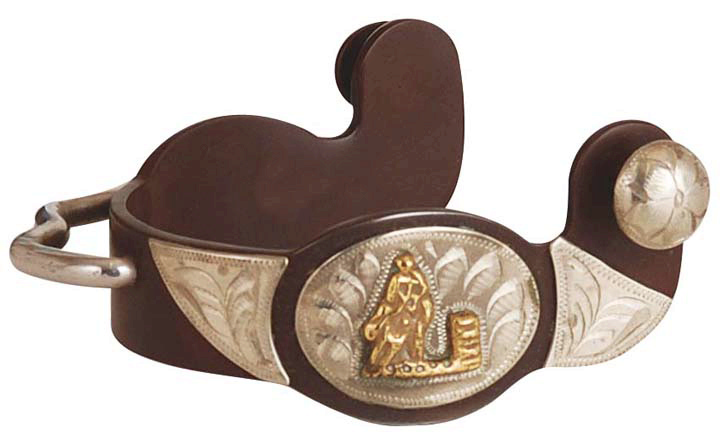 Direct Equine Antique Brown Bumper Spur Ladies'