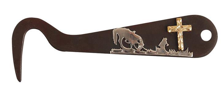 Direct Equine Antique Brown Hoof Pick