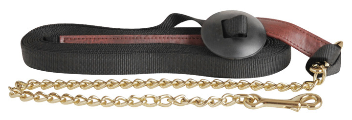 Direct Equine Poly Web Lunge Lead Chain