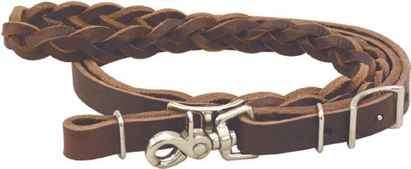 Cowboy Pro 3 Plait Mystery Braid Roping Reins