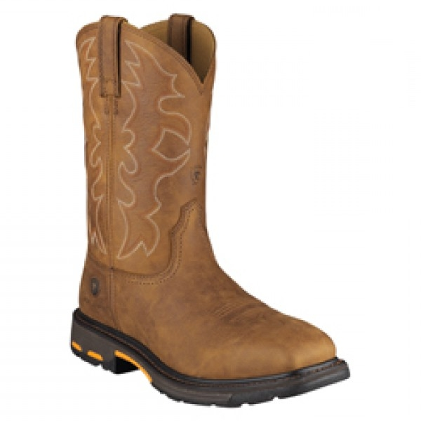 Ariat Men's WORKHOG Wide Square Steel Toe Workboot
