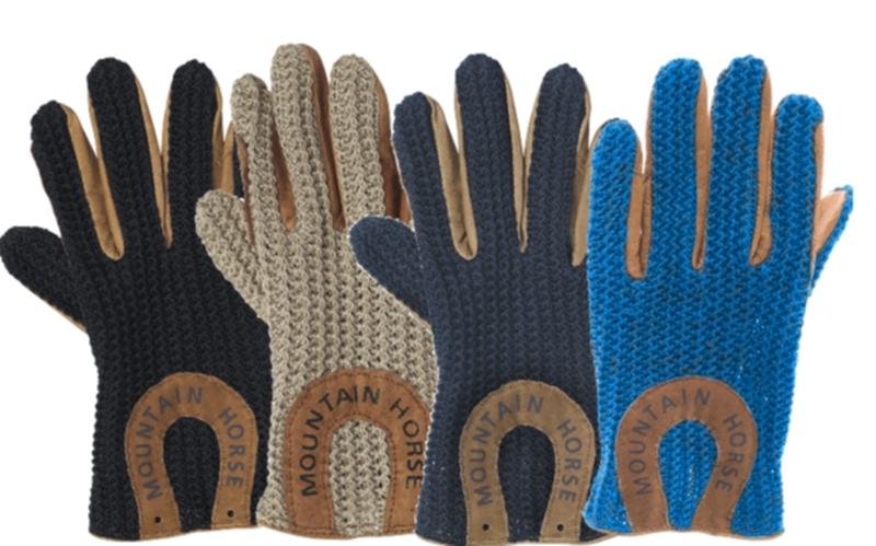 Mountain Horse Kids Crochet Glove Jr