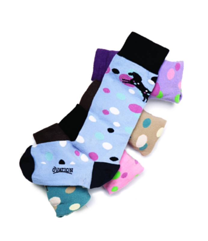 Ovation Child Bubbles Crew Sock
