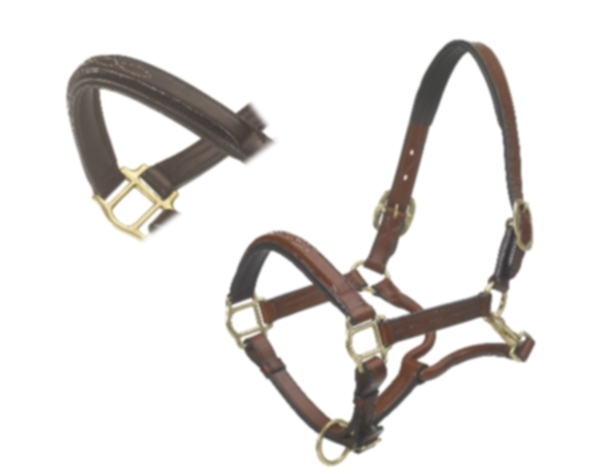 Ovation Wide Square Raised Padded Fancy Stitched Halter