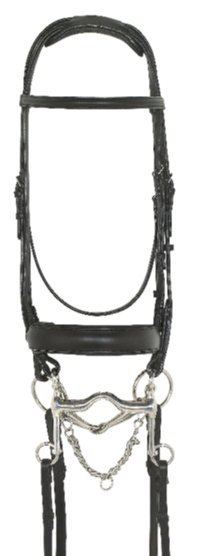 Ovation Super Comfort Double Bridle with Reins