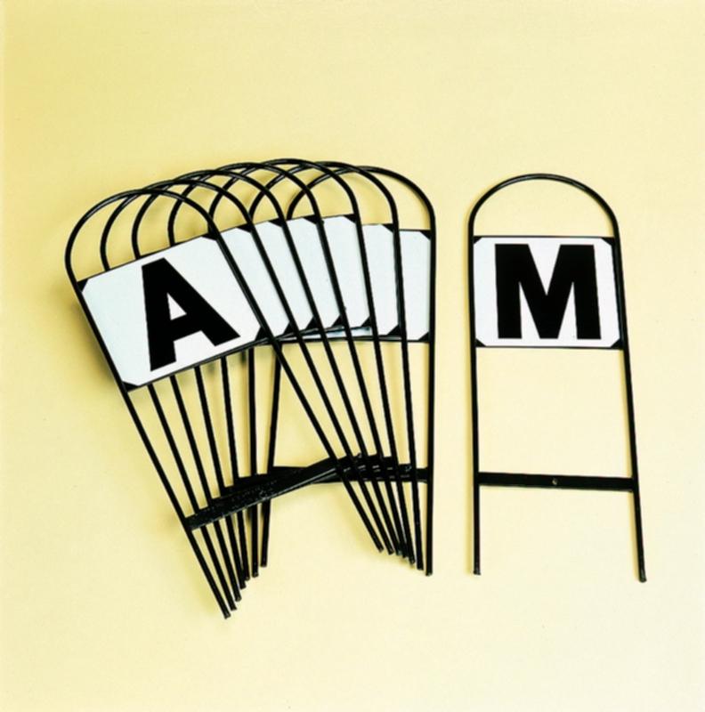 Dressage Letters set