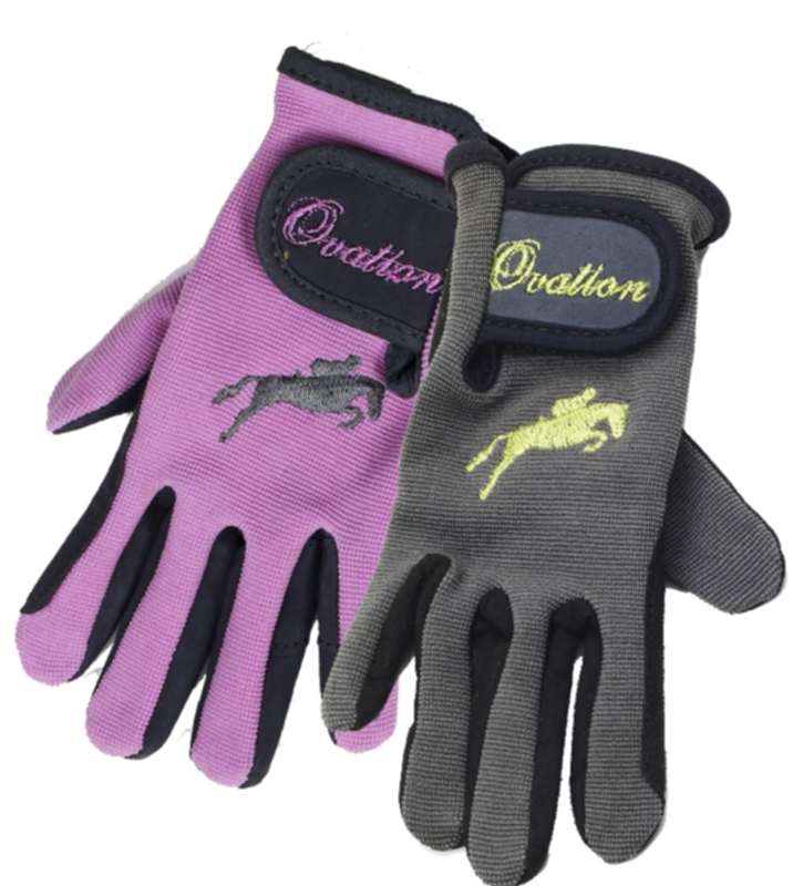 Ovation Kids' Suede Palm Girlie Glove