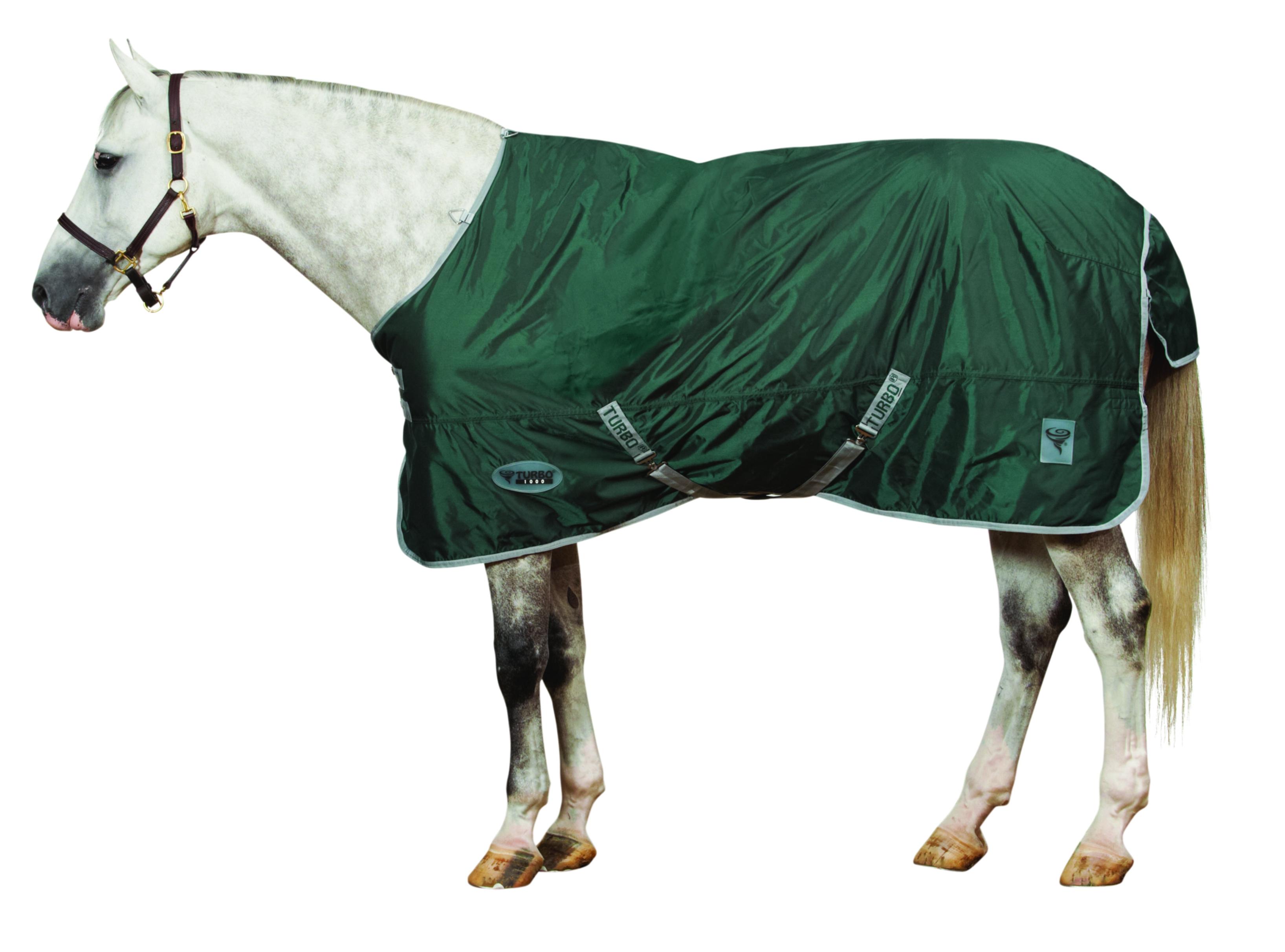 Centaur Turbo 1000D Waterproof / Breathable Mediumweight Turnout Blanket