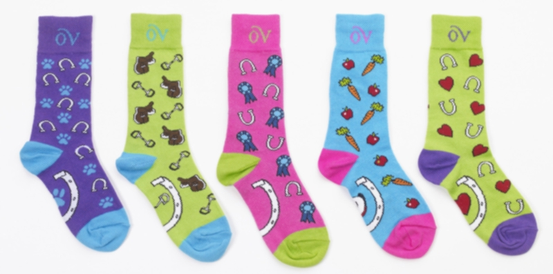 Ovation Lucky Tracks Kids MC Sock