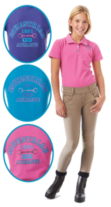 Ovation Girls EQ Athlete Polo