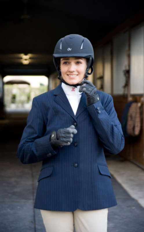 Ovation Child Show Coat - 20 Plus - Navy Herringbone