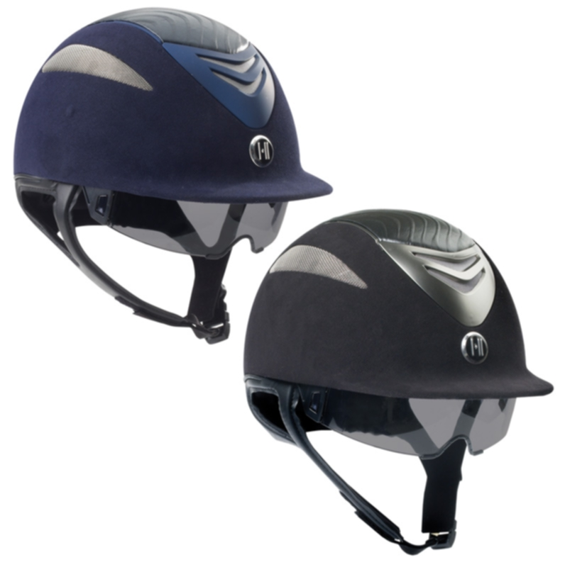 One K Defender Pro Suede and Leather Helmet