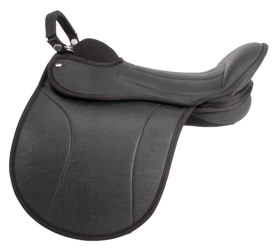 EquiRoyal Child's Pro Am Lead Line Saddle
