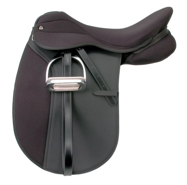 EquiRoyal Pro Am Dressage Saddle Wide Tree