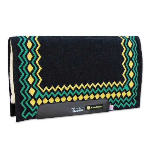 Professionals Choice John Deere SMX 3/4 Western Show Pad: Shilloh Pattern