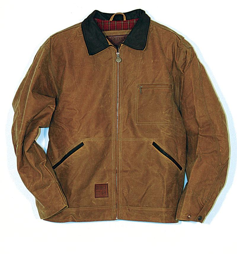 Outback Men's Oilskin Jackhammer Jacket