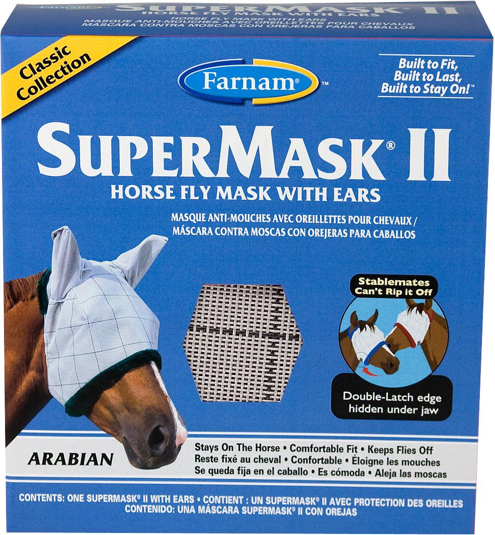 SuperMask Fly Mask II with Ears