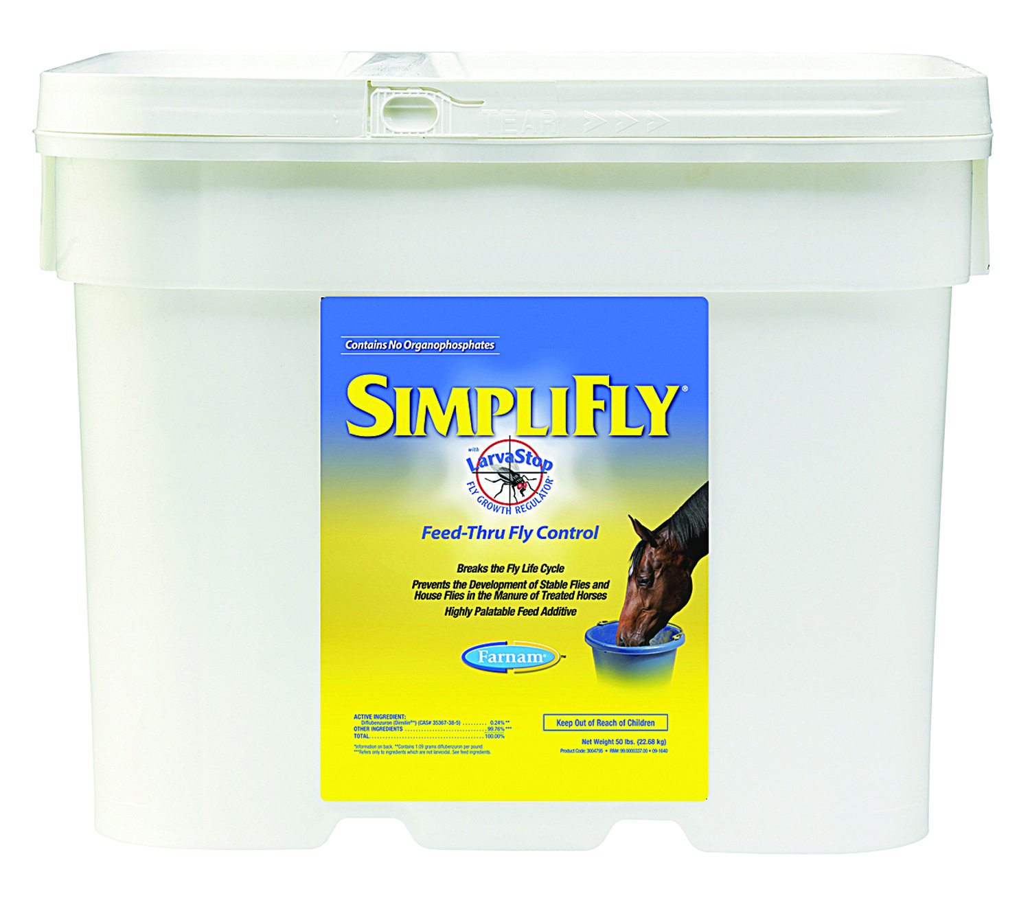 Farnam Simplifly with Larvastop for Horses