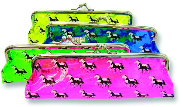 Plastic Pencil Case - Mare and Foal Design