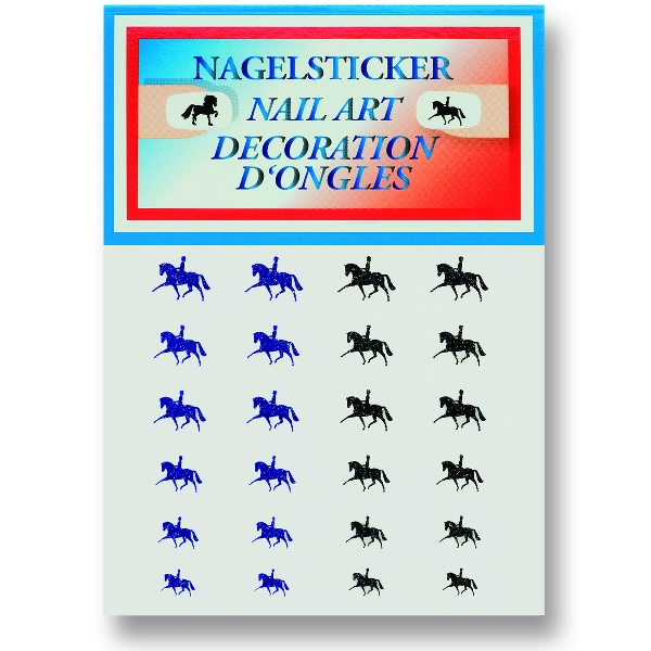 Dressage Nail Art Stickers - 24/Sheet