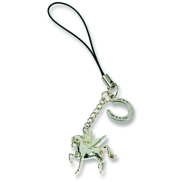 Guardian Angel Horse Zipper Pull Charm