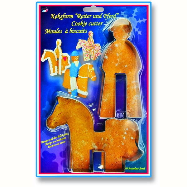 Horse & Rider Cookie Cutter set