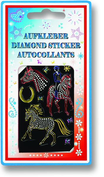 3D Diamond Stickers