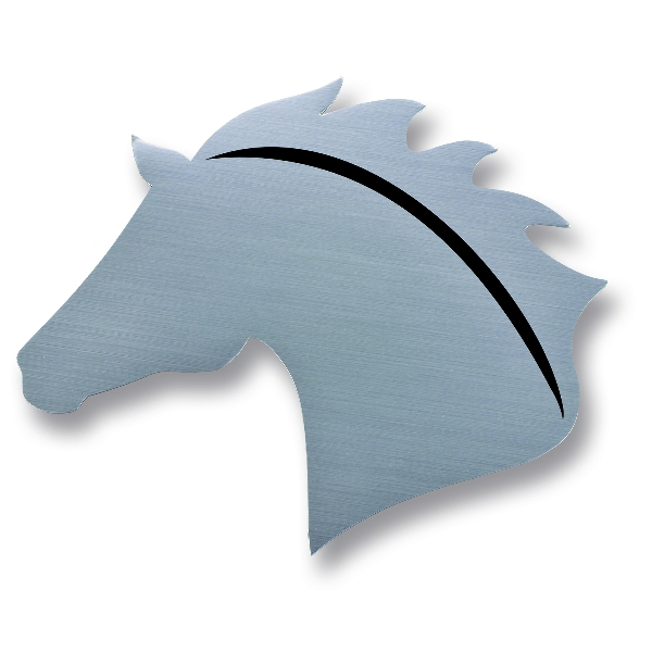 Horse Head Car magnets - Set of 2