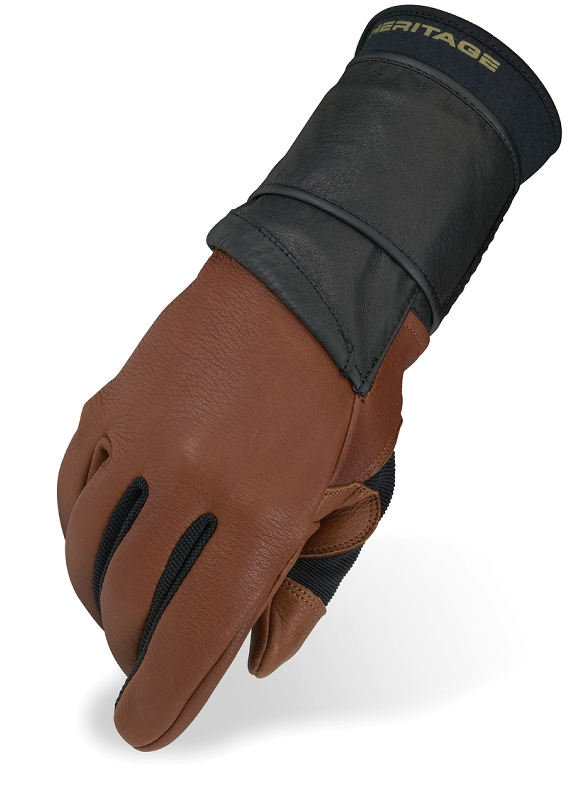 Heritage Pro 8.0 Bull Riding Glove (Right Hand Only)