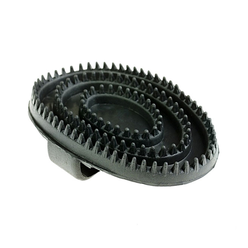 HorZe Rubber Curry Brush