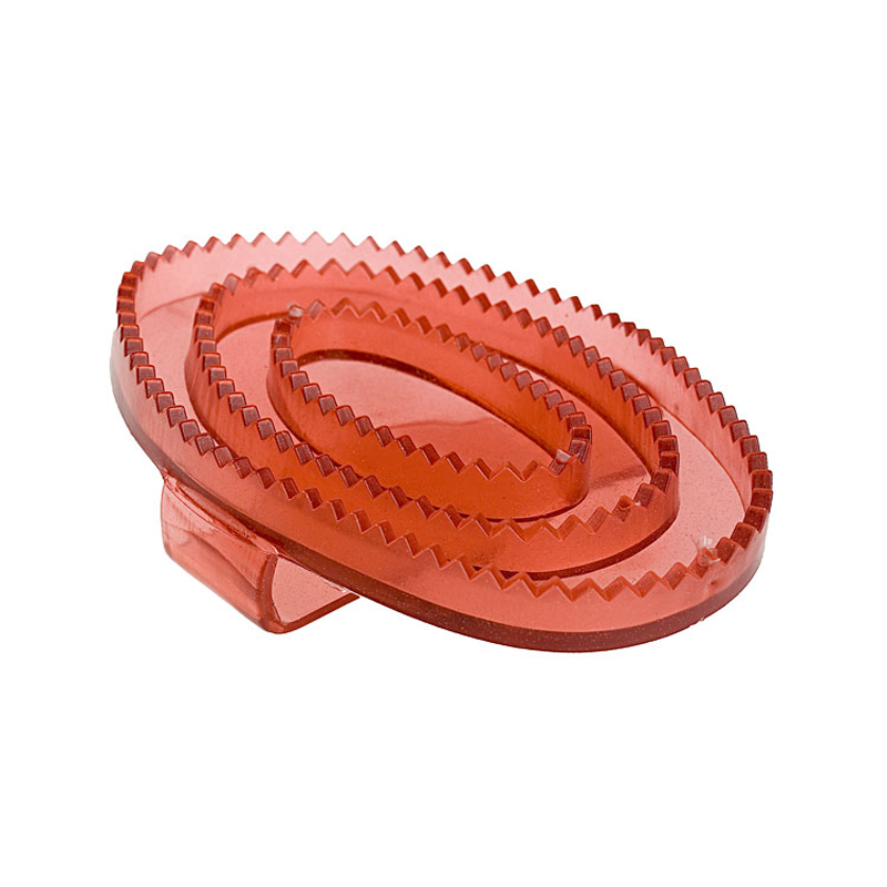 HorZe Flexible Rubber Curry Comb Small