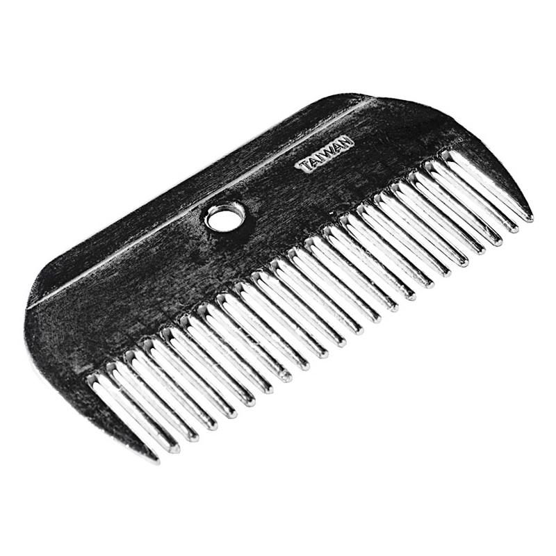 HorZe Mane Comb Metal
