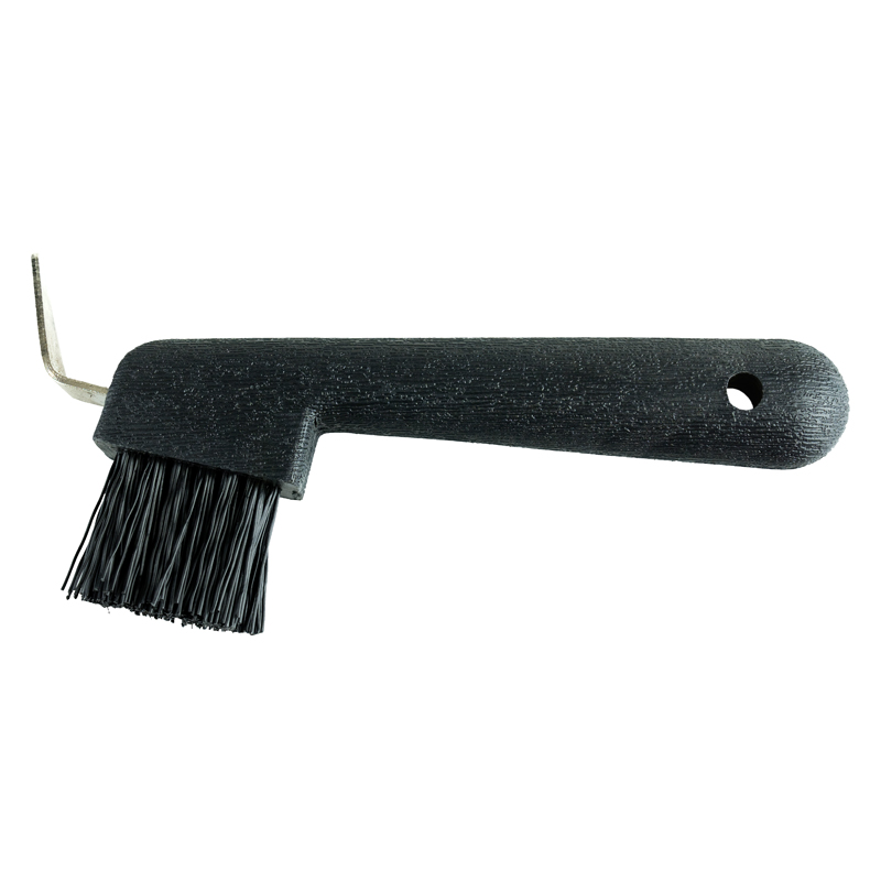 HorZe Hoof Pick With Brush