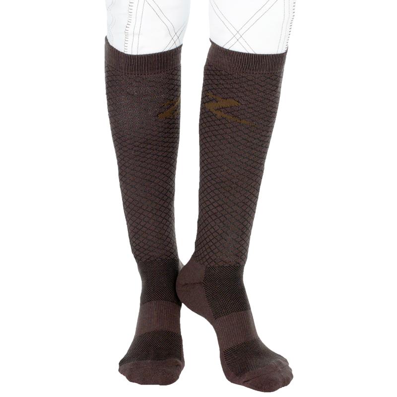 HorZe Jacquard Knee Socks