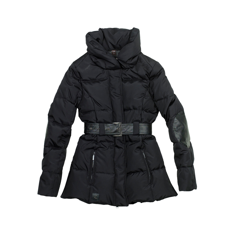 HorZe Shawl Collar Down Jacket Ladies