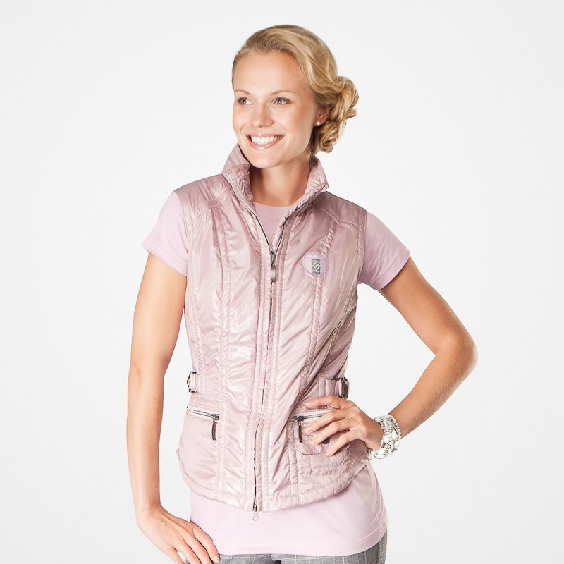 HorZe Skye Ladies Thin Padded Vest With Side Tam