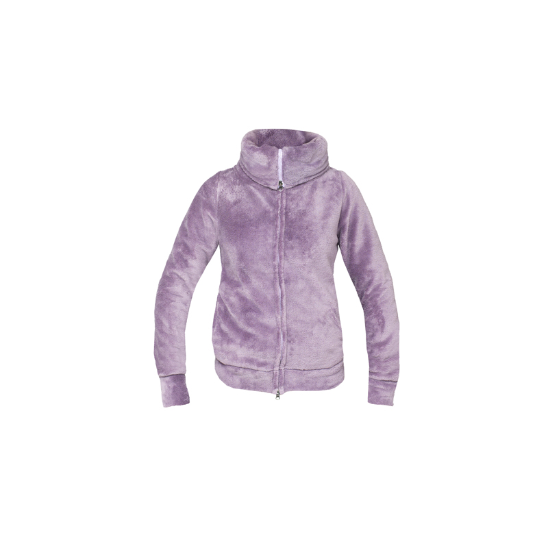 HorZe Evelyn Ladies Furry Sweatjacket