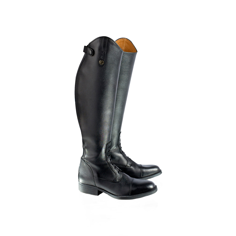 HorZe Tallboot With Laces And Elastic