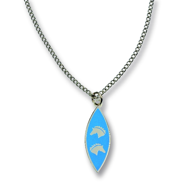 Horse Heads Necklace