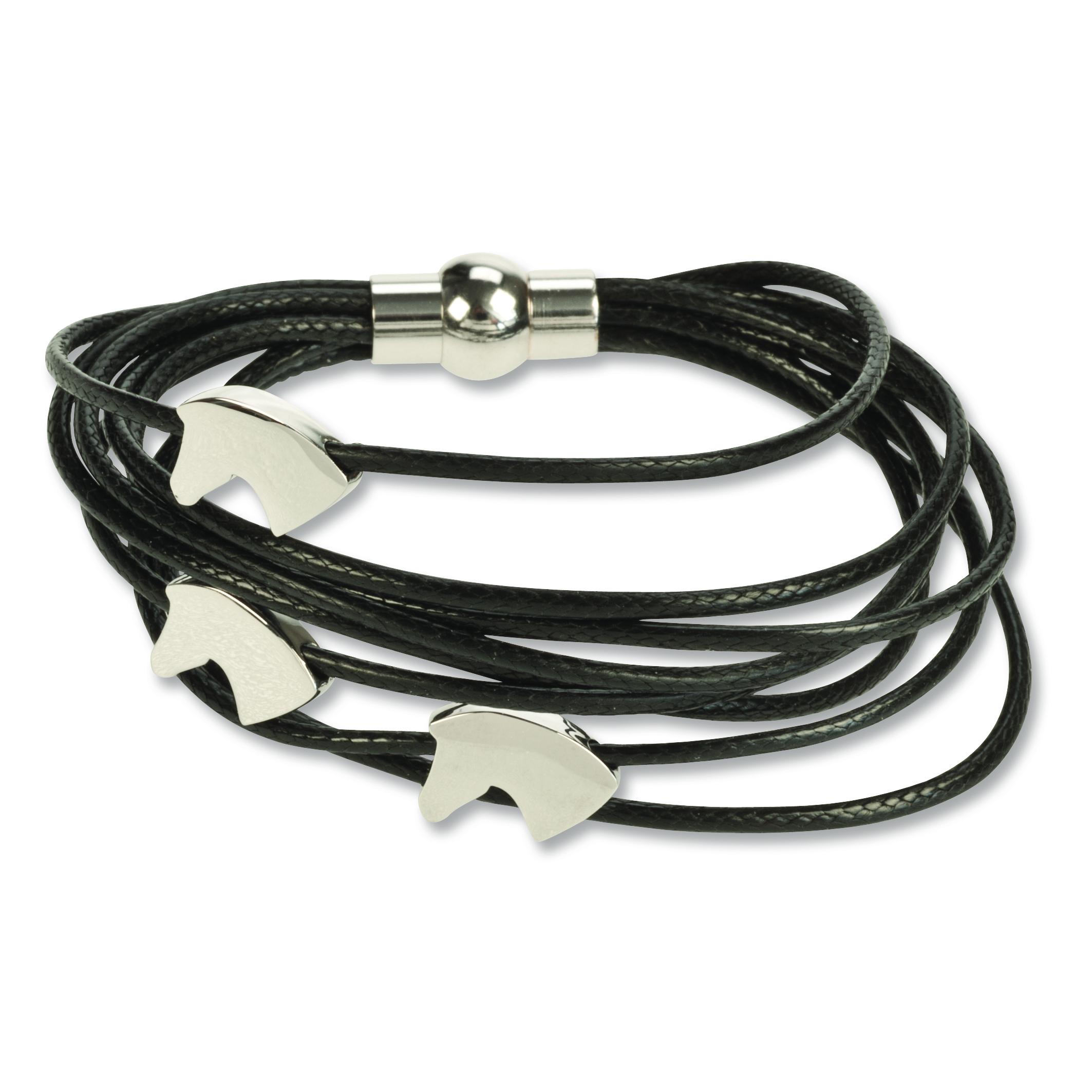 3 Horse Heads Bracelet