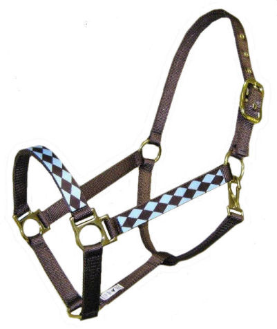 Ronmar Nylon Halter with Snap - Jester
