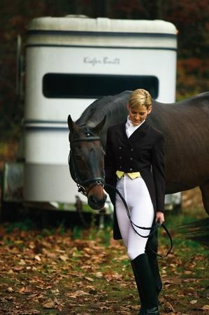 TuffRider Ladies Dressage Shadbelly Show Coat