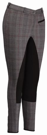 TuffRider Plaid Full Seat Breech